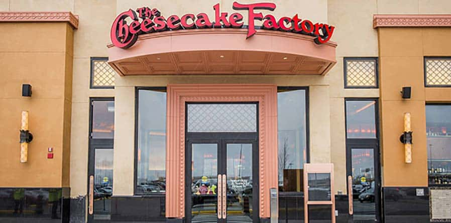 Dor-Control Craftsmen Install Automatic Doors at The Cheesecake Factory Yorkdale