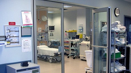 Dor-Control Craftsmen Install Automatic Doors at Hospitals and Healthcare Buildings