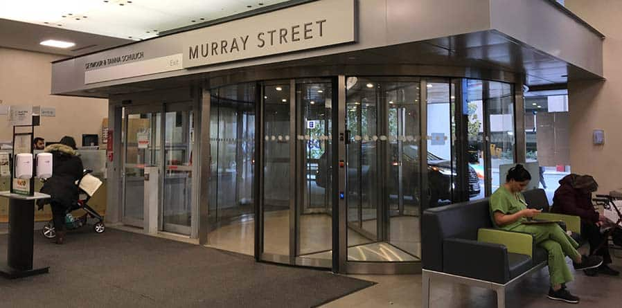 Dor-Control Craftsmen Installs Revolving Door Mount Sinai Hospital, Toronto ON