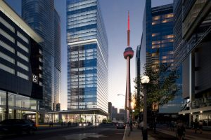 Dor-Control Craftsmen Install Automatic Doors at 16 York, Toronto, ON