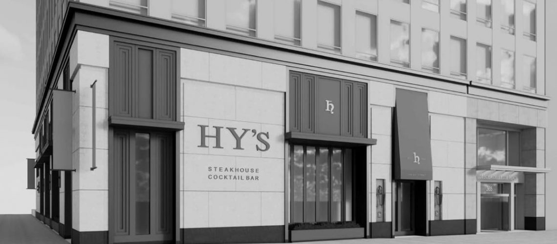 Dor-Control Craftsmen installed automatic operators for accessibility at Hy's Steakhouse in Toronto