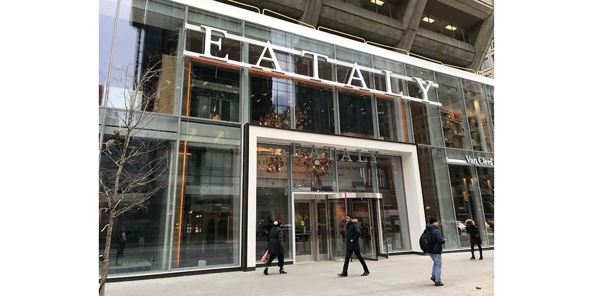 Dor Control Craftsmen installed Revolving Doors at Eataly Toronto